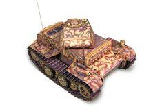 World of Tanks - Pz.Kpfw. II Ausf. J Free Tank Paper Model Download
