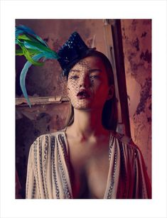 Flower Power – Photographer Emre Guven and stylist Hakan Ozturk bring on the drama for the November issue of Marie Claire Turkey. Model Polina Uagen dons bright colors and luxurious selects in an abandoned setting while wearing the perfect autumn pout by Hamiyet Akpinar and sleek hair styled by Ferit Belli. The vivid contrast between Polina's beauty, the giant flowers around her and the decay of the background makes for a dreamy editorial.