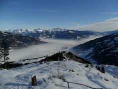 Misty Valley between Kaprun and Zell