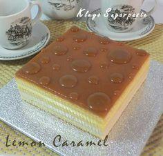 Lemon caramel, Kleyo sugarpaste,