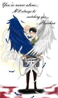 Shingeki no Kyojin- Levi X Petra Wings of Freedom by rozeru-chan on DeviantArt