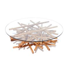 {Nest Coffee Table} love the organic vibe of this table; made in Great Britain