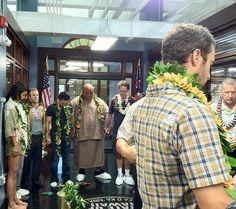 ♥♥♥ cast of H50 and Alex O'Loughlin - season 2 Blessing ceremony