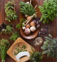 Rustic spices & herbs