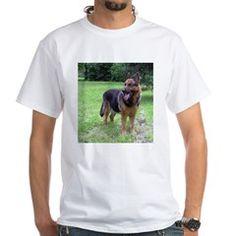 full 2 german shepherd T-Shirt