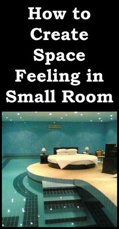 6 Small Bedroom Decorating Ideas – How to Create a Feeling of Space in a Small Room Small Bedroom Decor On A Budget, Small Room Bedroom, Bed Room, Old Magazines, Best Mattress, Teen Girl Bedrooms, Create Space, Cool Lighting, Simple Designs