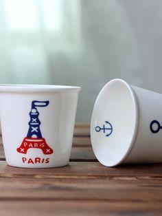 Classic Painting Round Ceramic Mug Cup & Dining - at Jollychic Classic Paintings, Mug Cup, Cups, Ceramics, Dining, Tableware, Ceramica, Mugs, Pottery