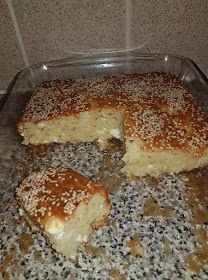 ΜΑΓΕΙΡΙΚΗ ΚΑΙ ΣΥΝΤΑΓΕΣ 2: Κέικ αλμυρό με φέτα!! Food Gallery, Muffin, Pudding, Bread, Cheese, Breakfast, Desserts, Garlic, Kitchens