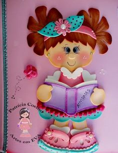 I Love Crafts: Eva Dolls with Mould Foam Crafts, Preschool Crafts, Diy And Crafts, Crafts For Kids, Arts And Crafts, Paper Crafts, Felt Patterns, Stuffed Toys Patterns, Cute Ginger