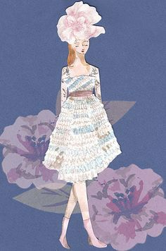 elisa palomino | Fashion Illustrations from two shows I atte… | Flickr