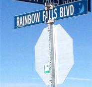 Seek-A-Peek: New Rainbow Falls Showhome Rainbow Falls, Wind Turbine, Building A House