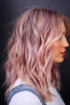 With bangs length bob hairstyles medium