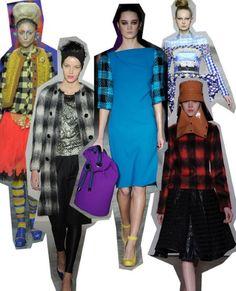 Checks. London Fashion Week trends autumn/winter 2012