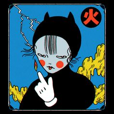 make a patch or pin? Kunst Inspo, Art Inspo, Aesthetic Art, Aesthetic Anime, Anime Kunst, Anime Art, Art And Illustration, Photographie Street Art, Arte Indie