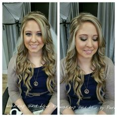 Bridal hair and makeup Bridal Hair And Makeup, Hair Makeup, Airbrush Makeup, Atlanta, November, Pure Products, November Born, Party Hairstyles
