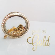 Gold lockets and chains from lavish