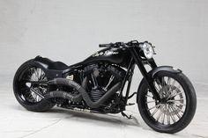 Custom cafe racer build by Harley Heaven!