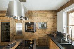 I like the modern rustic kitchen look.