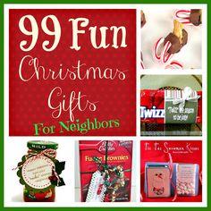 Six Sisters' Stuff: 99 Fun Christmas Gifts for Neighbors