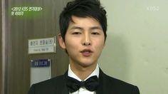 130105 Ent. Weekly Moon Chae Won and Song Joong Ki at 2012 KBS Drama Awa...