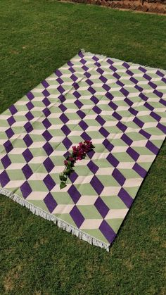 Cotton Flat Weave Area Rug 6' x 9' Feet Double Color Unique Cotton Punja Dhurrie #Handmade #Dhurrie Big Area Rugs, Picnic Blanket, Outdoor Blanket, Slippery Floor, Dhurrie Rugs, 3d Pattern, Unique Rugs, Marble Floor, Rooms Home Decor