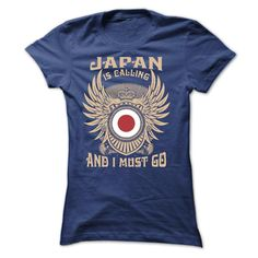 JAPAN IS CALLING AND I MUST GO TEE SHIRTS