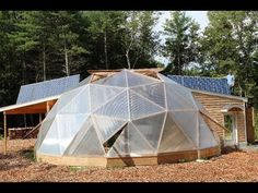 Building the Aquaponic Geodesic Dome Greenhouse in TWO Minutes!