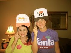 80s themed party with awesome ideas for photo booth print outs