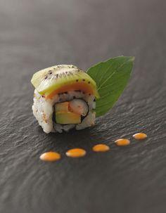 Yummy ! Les sushis sucré-salé de Joël Robuchon.