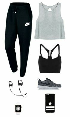 Cute Workout Outfits, Cute Teen Outfits, Lazy Outfits, Workout Attire, Cute Comfy Outfits, Teenager Outfits, Nike Outfits, Teen Fashion Outfits, Outfits For Teens