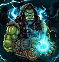 80 meilleures images du tableau Warcraft : Thrall en 2019