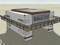 """The Rammed Earth Shipping Container """"Quik House"""" by Adam Kalkin - YouTube"""