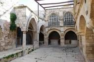 This place, on Mount Zion, is an Armenian Church, convent and cemetery. According to the Armenians, this was the house of Caiaphas, where Jesus was arrested before being trialed.
