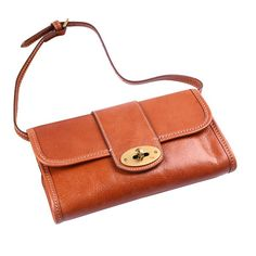 Mulberry Clutch Daria Leather Bag Orange Leather Belt Bag c873f6e64eb04