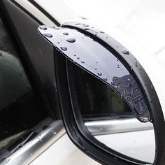 Car universal Rrain Shield Flexible Peucine Rear Mirror Guard Rearview mirror Rain Shade car styling accessories Free Shipping-in Stickers from Automobiles & Motorcycles on Aliexpress.com | Alibaba Group