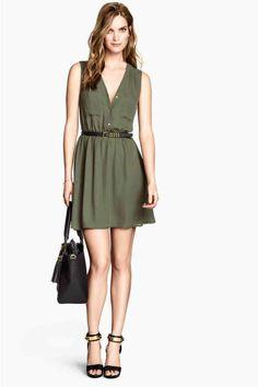 Robe sans manches H&M printemps été 2014