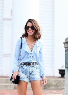 Look Seda, jeans e tenis camila coelho3