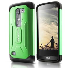 Evocel® LG Escape 2 / Spirit H443 Case [X-Generation Series] Slim Fit Dual Layer Design Hybrid Armor Protective Case For LG Escape 2 / LG Spirit H443 (AT&T / Cricket) - Retail Packaging, Lime Green Evocel http://www.amazon.com/dp/B010QUNKJG/ref=cm_sw_r_pi_dp_s5dLwb1JY19GQ