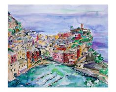 One day I'll have a mural of Vernazza on my kitchen wall. Reminder of the perfect day in Italy with my wonderful husband.