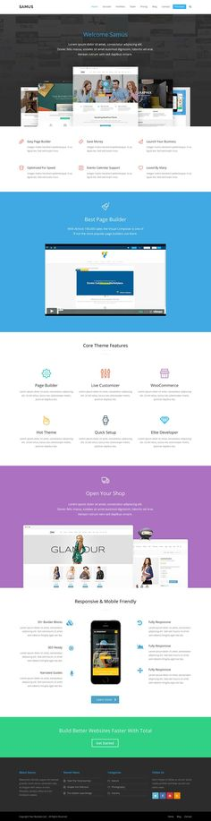 Samus Agency & Business: A Total WordPress Theme Demo - WPExplorer