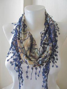turkish fabric scarf. (: