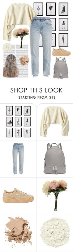 """Minimalist chic 🌪"" by niamhdonogher ❤ liked on Polyvore featuring Oris, Frontgate, Uniqlo, Vetements, Michael Kors, Puma, Bobbi Brown Cosmetics, Illamasqua and contest"