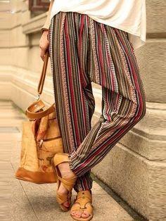 Hippie Pants, Boho Pants, Bohemian Pants Outfit, Hippie Style, Bohemian Style, Bohemian Gypsy, Sarouel Pants, Trousers, Harem Pants Fashion