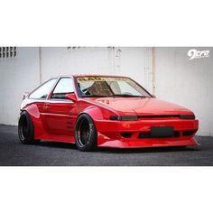 Toyota AE86 #Toyota #GreaseGarage #AE86 #JDM #Stance