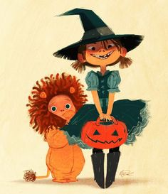 """Trick or treat!""  by Meg Park*  • Blog/Website 