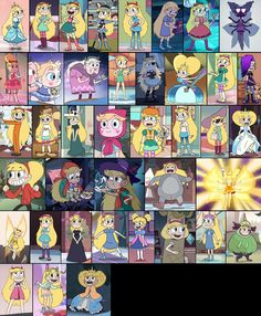 Star all outfits and dresses