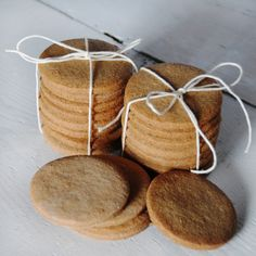 Gluten-free Digestive Biscuits (would use some other oil allowed instead of butter and xylitol instead of sugar)