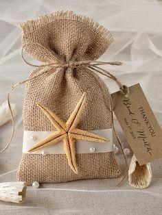 Custom listing Beach Rustic Favor Bag, Destination Wedding Bag, Wedding Favor Bag, Starfish Bag, Wedding Rustic thank you bag