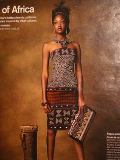African Style 7/23/08 on the AphroChic blog | {Images from: San Francisco Magazine, AphroChic}