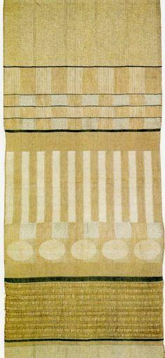The Bauhaus Textiles of Gunta Stölzl & Anni Albers Bauhaus Textiles, Motifs Textiles, Weaving Textiles, Tapestry Weaving, Textile Patterns, Textile Design, Textile Fabrics, Fabric Design, Print Patterns